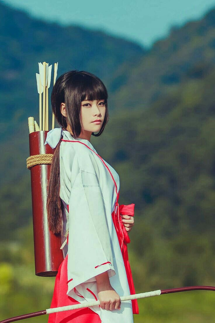 So beautiful ~3 Kikyo - inyuasha #cosplay