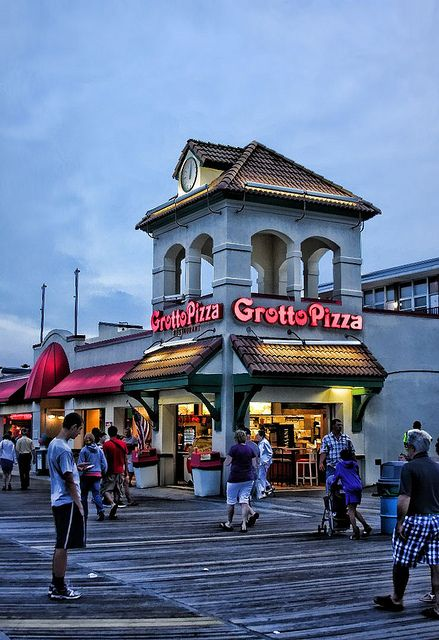 Boardwalk at Rehoboth Beach..Grotto pizza & the pizza I had someplace in Gettysburg  (Forget the name! ) are the 2 best I've ever had!
