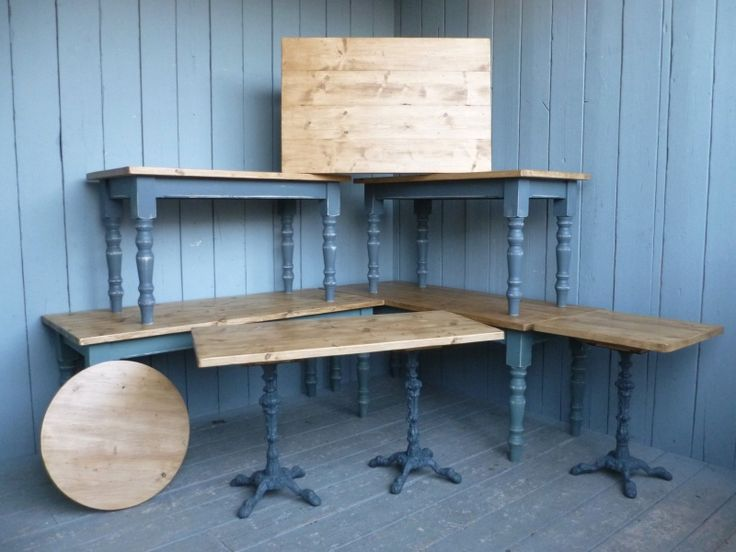 The team here at UKAA can do a variety of reclaimed plank top tables for  commercial use. For more information please call the team on 01543 222 923 - 9 Best Images About Scaffolding Boards On Pinterest Steel, Pine