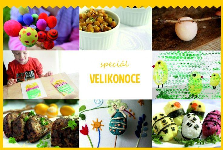 Velikonoční speciál kde najdete návody na velikonoční tvoření i vaření :-)