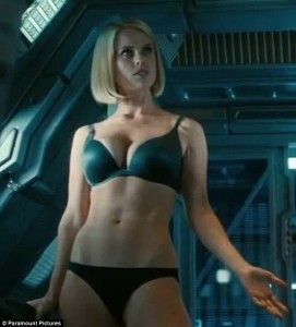 "Alice Eve stars as Carol Marcus in ""Star Trek Into Darkness"".  Follow the link attached to this image and read my review of the latest installment in the Star Trek franchise.  Be sure to 'like', share and leave a comment."