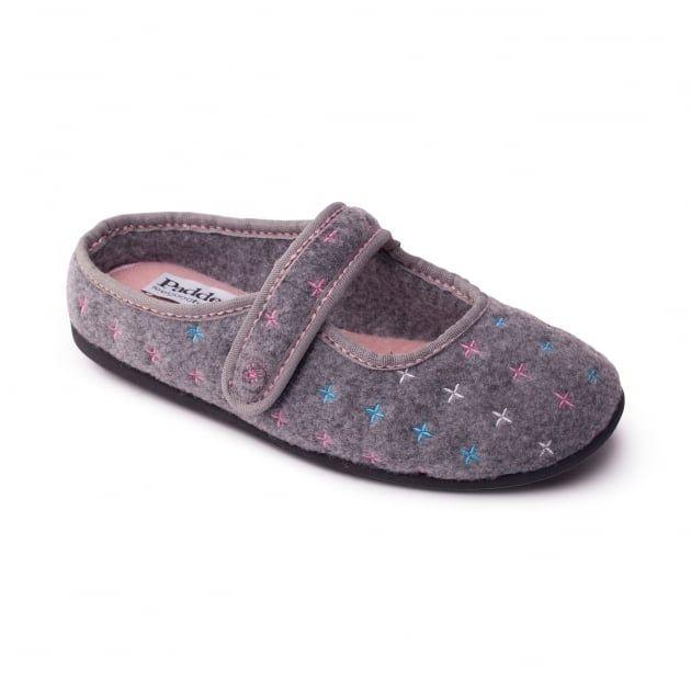 Heidi 4007 Grey Slippers