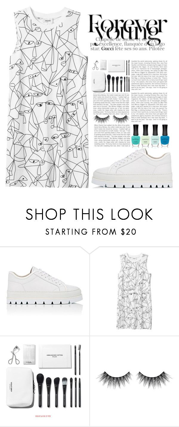 """ufos are real, follow me into the inner earth ♡♡♡♡"" by scheherazadee ❤ liked on Polyvore featuring MM6 Maison Margiela, Monki and Huda Beauty"