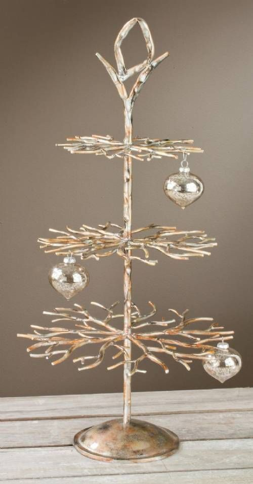 This tiered ornament tree is perfect for displaying your