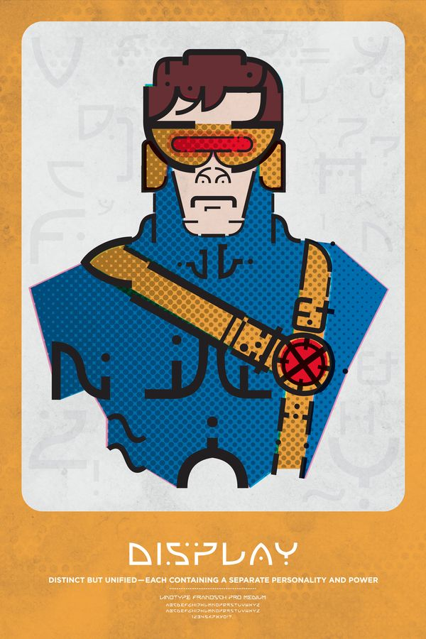 超級英雄顏文字,字體也能很有Style | 癮科技