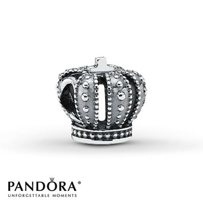 Pandora Charm Royal Crown Sterling Silver