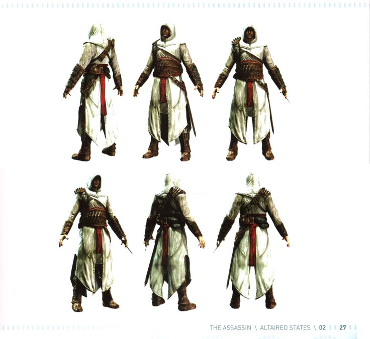 Assassin's Creed Costume Pattern | Assassin's Creed series