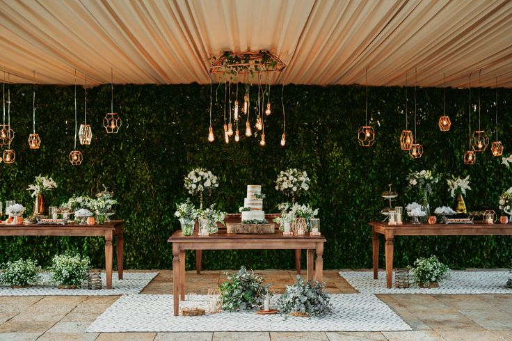 Mesa de doces - Decor Inspiration casamento @viihrocha