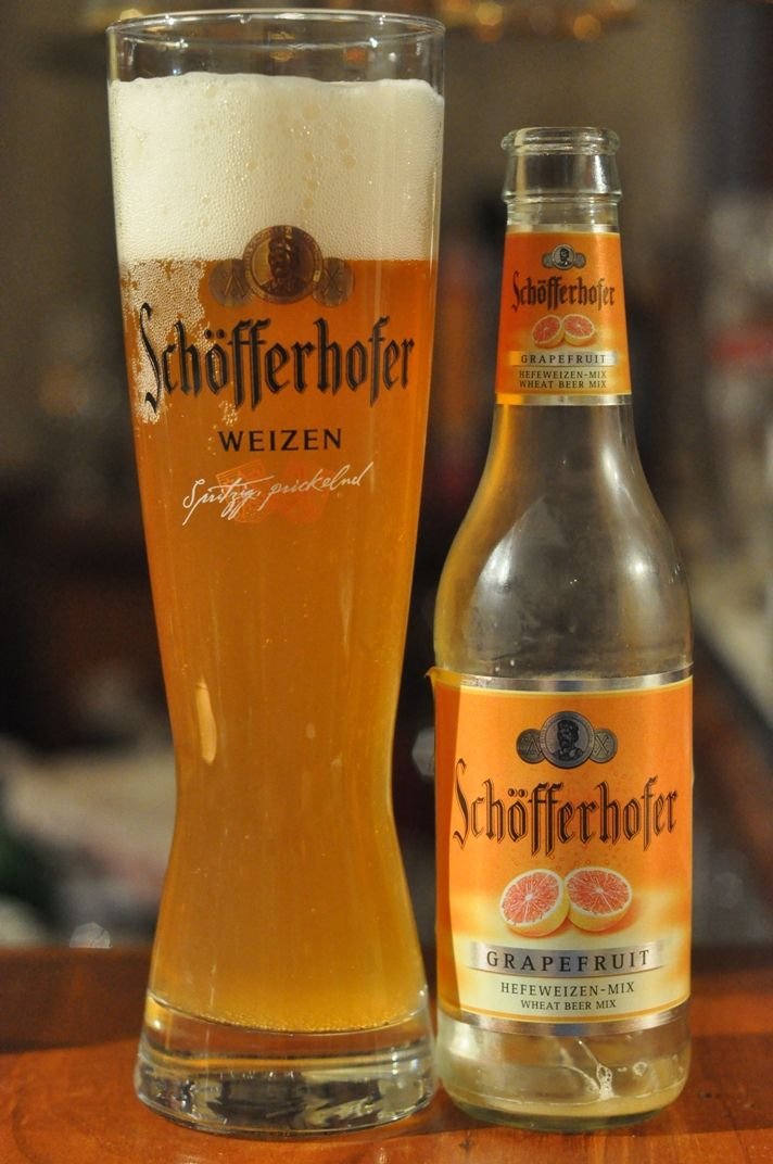 #Schofferhofer grapefruit is a unique combination of sparkling wheat beer and refreshing tangy fruit juice. Mix of 50% Schofferhofer wheat beer and 50% grapefruit juice. $8.99/6 pack