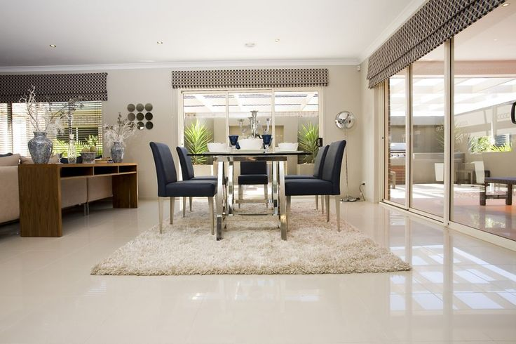 Dining Room Tiles Stratos Limestone polished  Interior