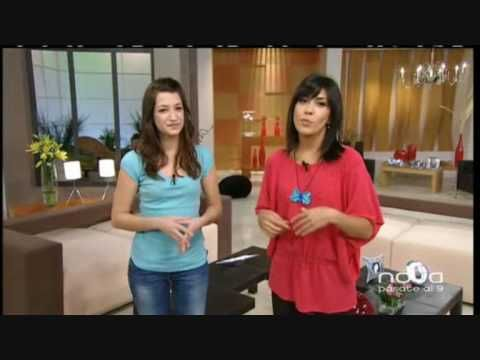 Silvia mijangos realiza un colgante de mariposa con - Utilisima bien simple ...