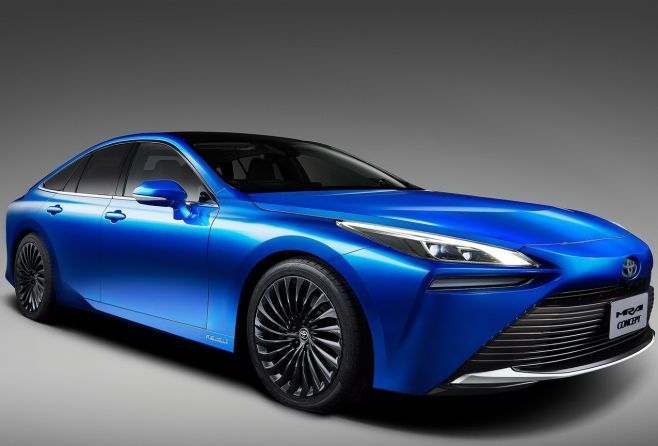 2019 Toyota Mirai Concept Pictures Hybrid Fuel Cell Revealed News In 2020 Hydrogen Powered Cars Fuel Cell Tokyo Motor Show