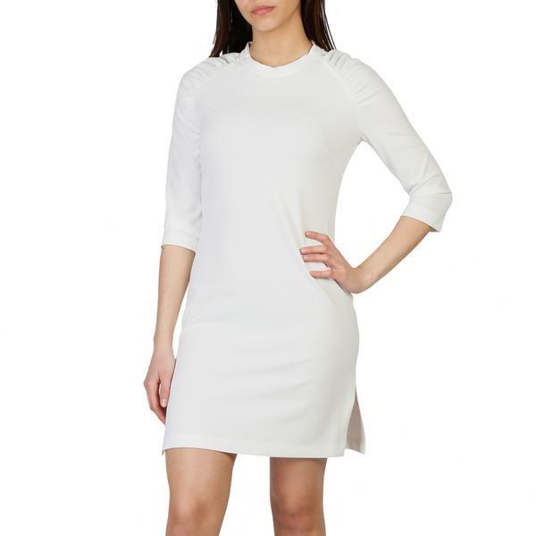 Made In Italy Collection Spring Summer Gender Woman Type Dress Fastening Rear Zip Sleeves 3 4 Neckline Round Material Elasta Mode Robe S Habiller