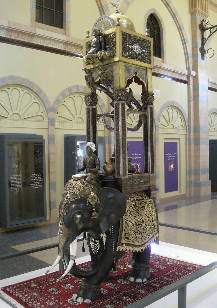 The Elephant Clock, Ismail Al-Jazari