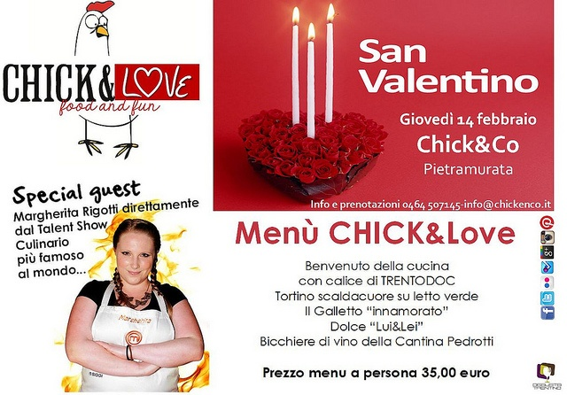 MASTERcena di SAN VALENTINO by Chick, via Flickr