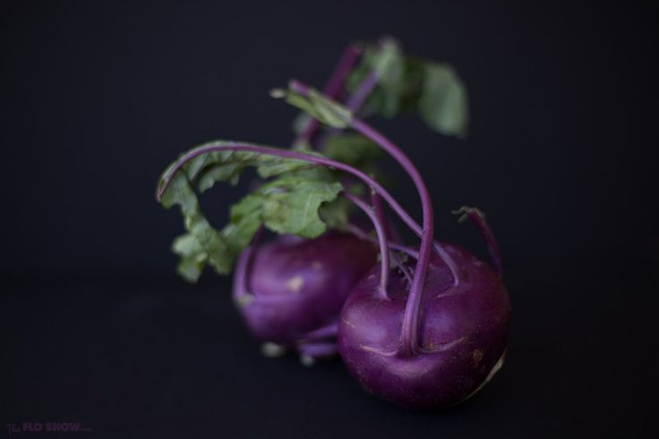 Purple Vienna Kohlrabi salad ⋆ The Flo Show