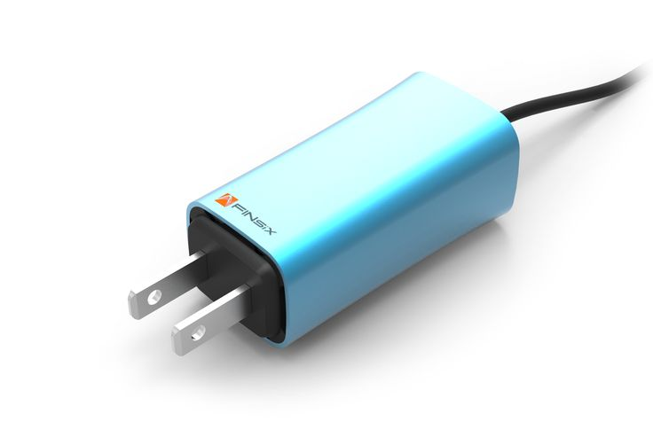 """FINsix the world's smallest laptop charger """"power adapters that are 75 percent smaller than their conventional counterparts. The (new) technology employed could also be used to improve the efficiency of a wide variety of devices and appliances, including washing machines and air conditioners. """""""