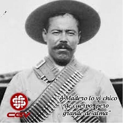 """#Undíacomohoy pero de 1878 Nace en Durango el general Francisco Villa, pronto se integra al movimiento maderista y desarrolla cualidades de estratega, llegando a ser conocido como: """"El centauro del norte"""""""