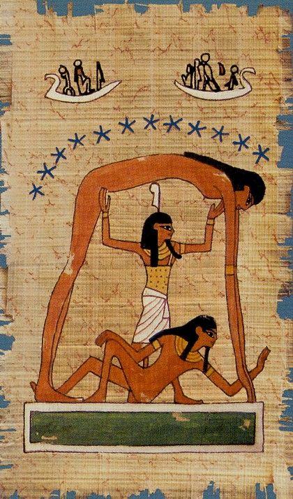 XVII. The Star: Cleopatra Tarot
