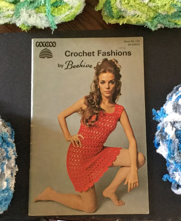 Patons Crochet Fashions by Beehive Book No. 123 and Patons Chic Crochet By Beehive Book No. 128|Vintage Patons Beehive Crocheting by ABlueHerronCreation on Etsy