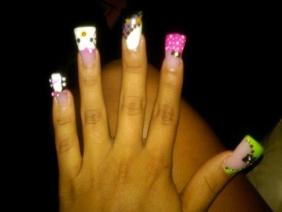 Snooki nails!