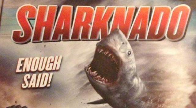 Sharknado Trailer: Sharks! Tornadoes! Coming to Syfy!