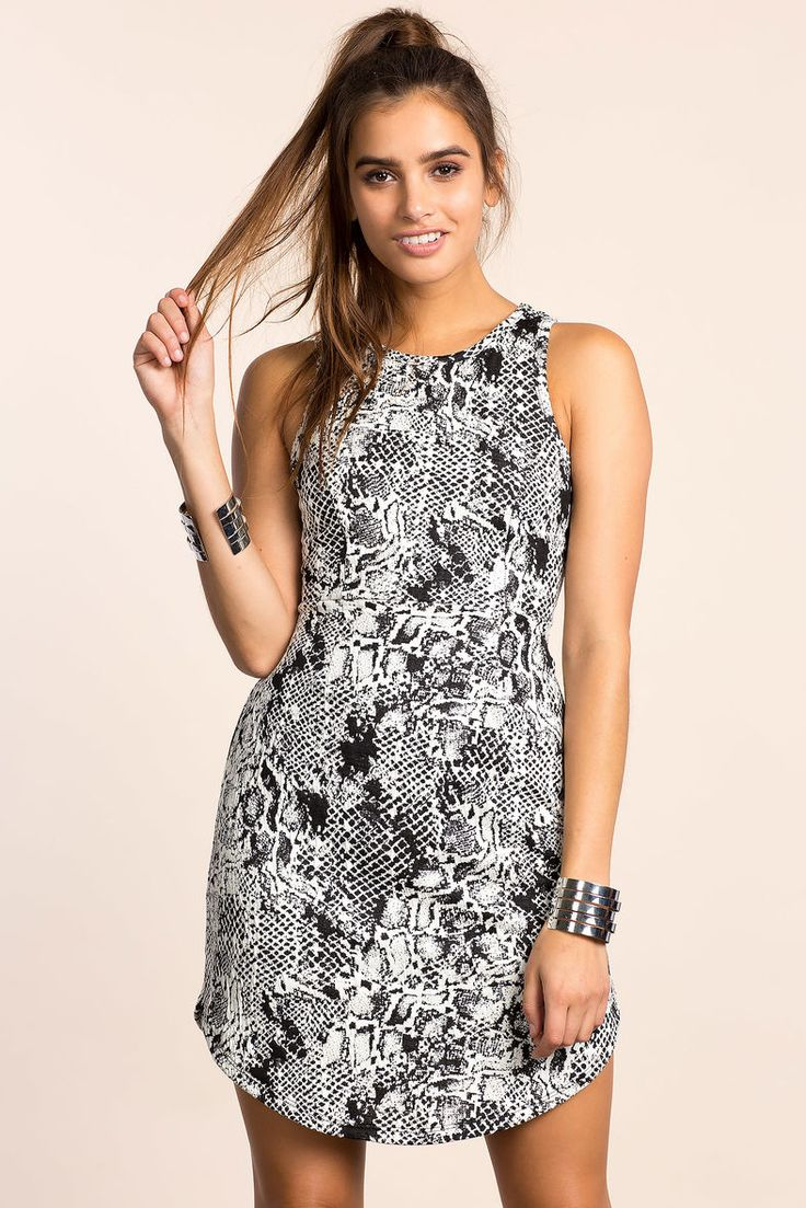 A'GACI | Abstract Lace Up A-line Dress | #AgaciSoExclusive