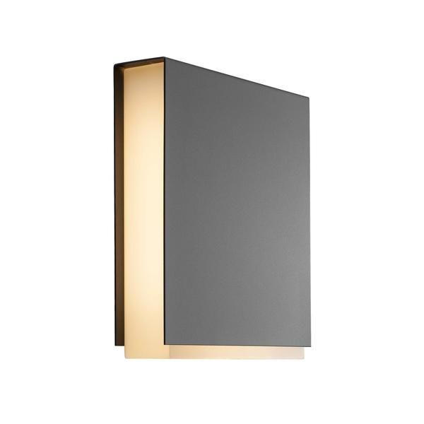 Tamar Clips LED Outdoor Wall Light - Grey