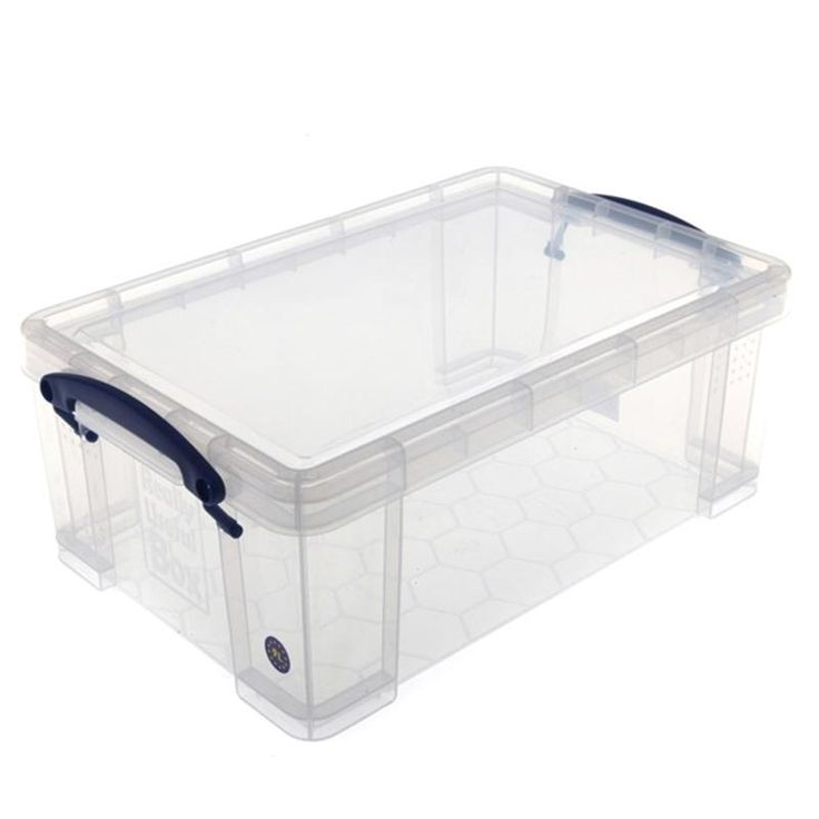Really Useful Small Plastic Storage Box With Lid 9 Litres | Hobbycraft