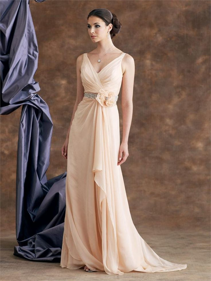 9 best Breathtaking Peach Bridesmaid Dresses Designs images on ...