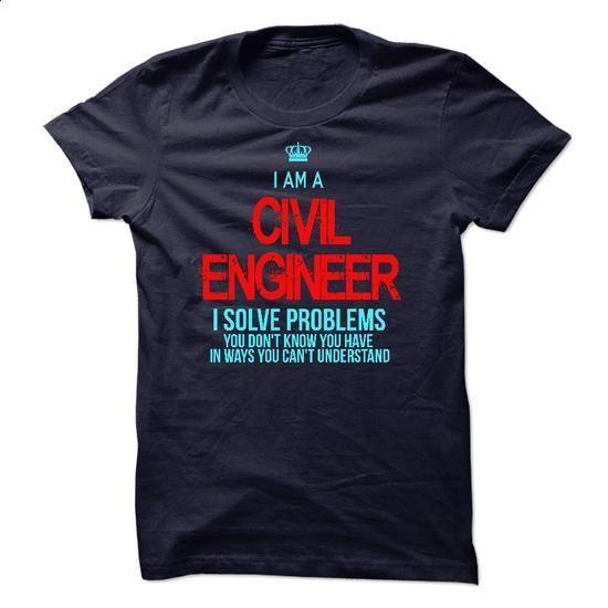 I am a Civil Engineer - #white shirts #free t shirt. I WANT THIS => https://www.sunfrog.com/LifeStyle/I-am-a-Civil-Engineer-12877029-Guys.html?60505
