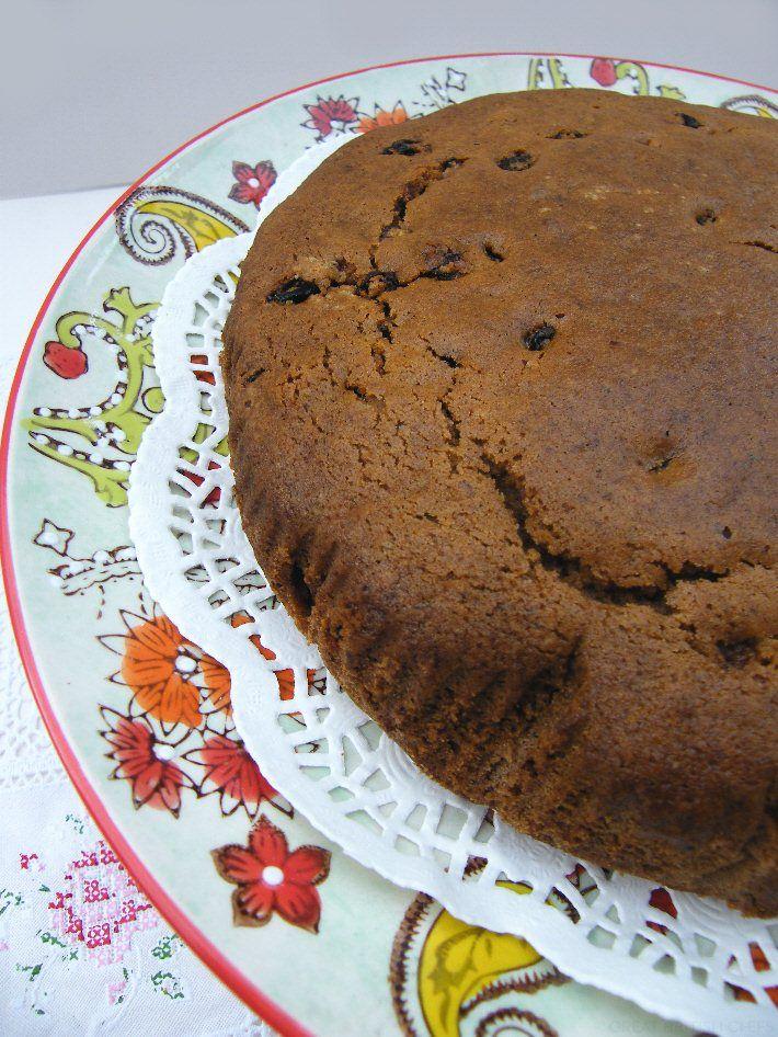 Spiced Vegan Fruit Cake! Aline ♥