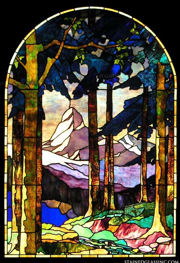 1000 Images About Stained Glass Paysages On Pinterest