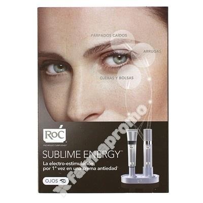 Tratamiento para mejorar arrugas, párpados, ojeras y bolsas   ROC SUBLIME ENERGY OJOS 10 ML