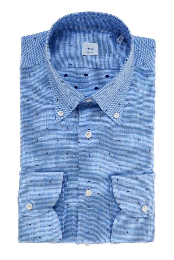 Carrel Shirt Camicia Càrrel lino collo button down Spring/Summer 2017 Collection