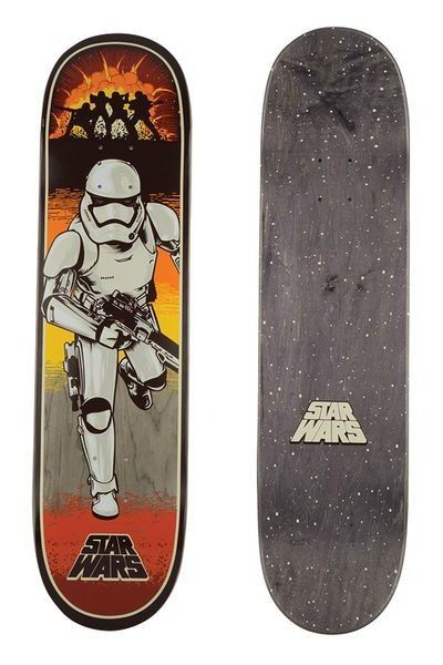 Star Wars holiday gifts: Santa Cruz Star Wars Episode VII skateboard deck