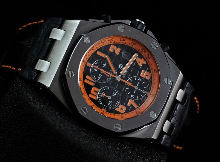 Audemars Piguet RoyalOakOffshore Volcano 'G'  Ref. No. 26170ST.OO.D101CR.01 Movement Automatic Case Material Steel Case Diameter 42 mm Bracelet Material Crocodile skin Functions Chronograph, Date Serial 'G'   Condition: 95%  (Fullset box manual paper)  WE ARE BASED AT JAKARTA please contact us for any inquiry : whatsapp : +6285723925777 blackberry pin : 2bf5e6b9 #AUDEMARSPIGUET #HOROLOGIE #WATCHFORSALE #FORSALE #LUXURY #LUXURYWATCH #BILLION #MILLION #VVIP #JAKARTA
