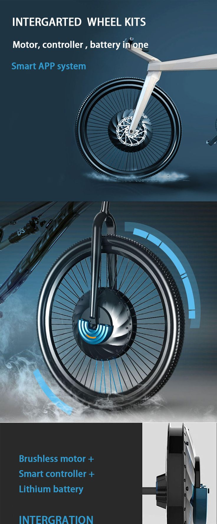 All-in-one electric bike kits-imortorv_ELECYCLE-Professional manufacturer of electric bicycle