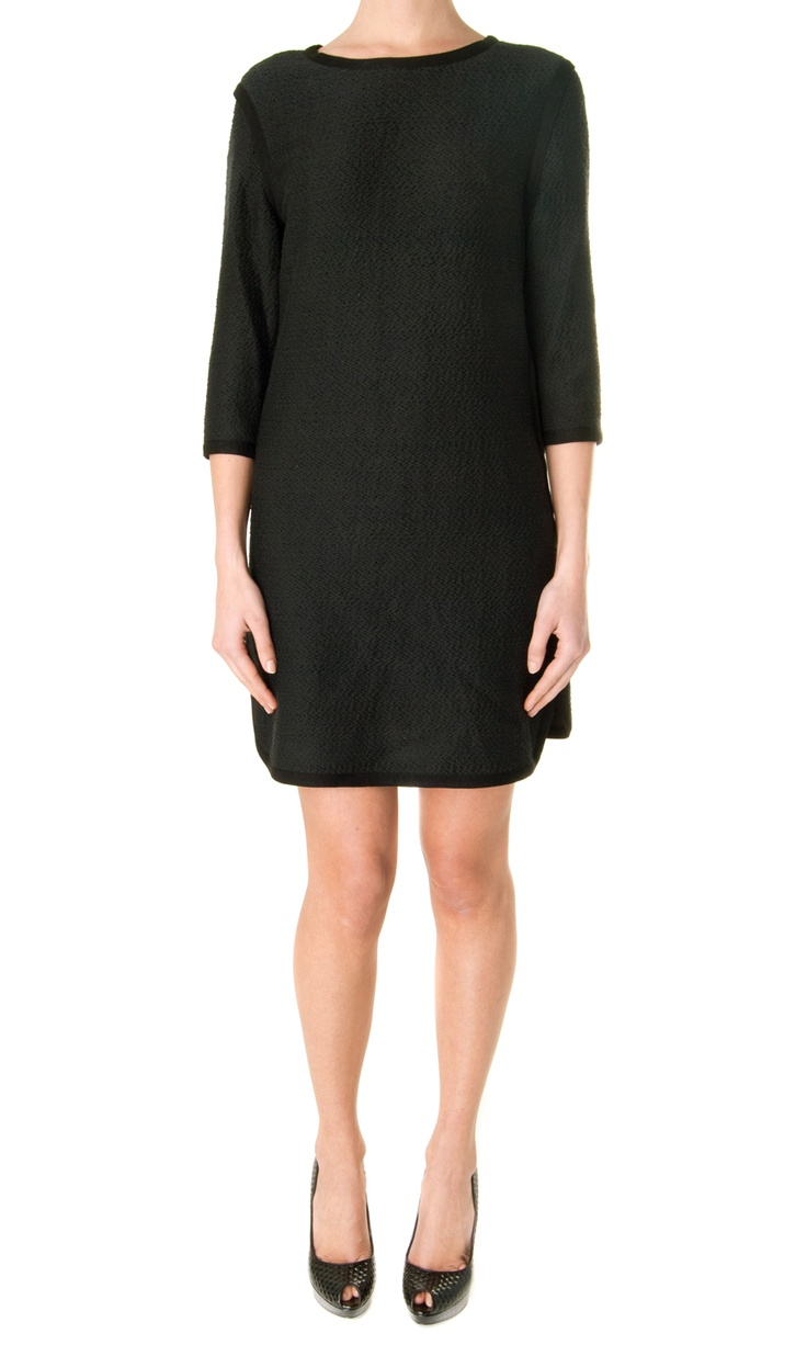 Sea NY Embroidered Long Sleeves Dress - #womenswear
