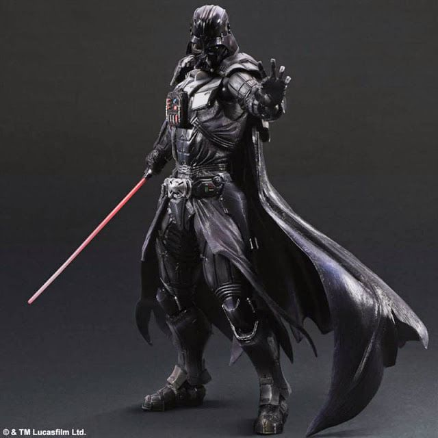 Revealed! Square Enix Play Arts Kai Star Wars Variant Darth Vader 10-inch Action Figure