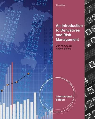 An introduction to derivatives and risk management | 134.06 CHA