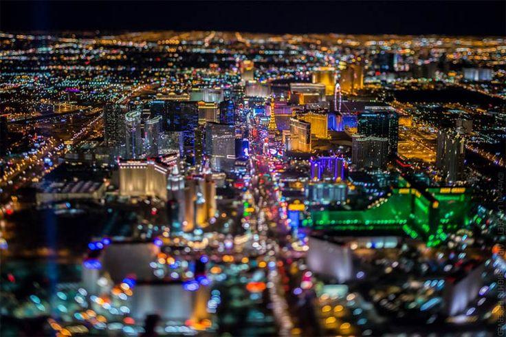 Sin City – De magnifiques photographies de Las Vegas vue du ciel
