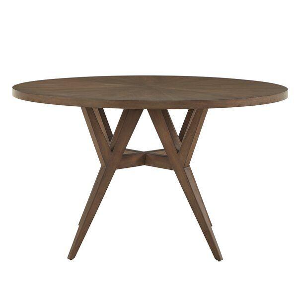 Modern Rustic Interiors Carolina Solid Wood Dining Table Reviews Wayfair Solid Wood Dining Table Wood Dining Table Dining Table