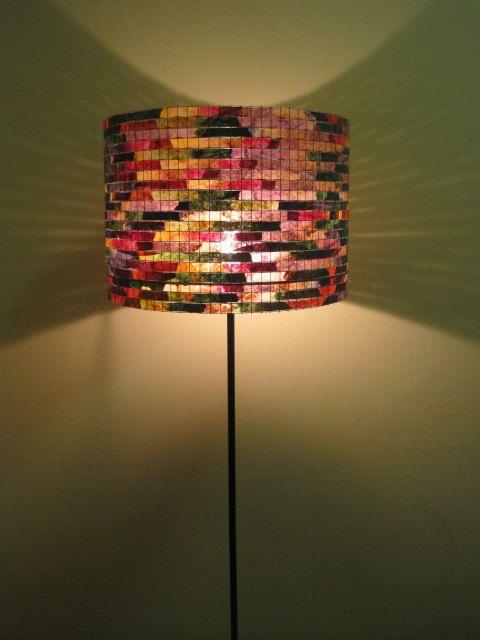COFFEE FILTER ART Floor Lamp Light Stand Lighting Home by Lampada, $245.00