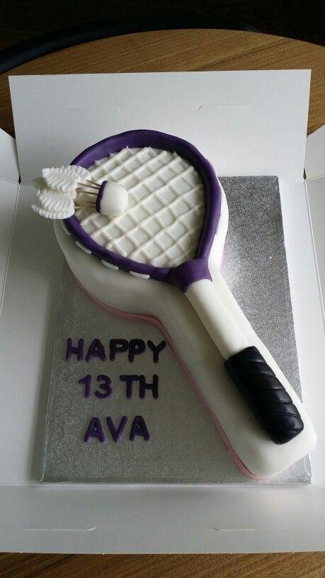 Badminton cake