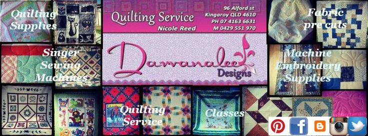 Darvanalee Designs Long Arm Quilting and More: Monthly Newletter March 2015