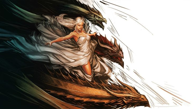 Daenerys Dragons Daenerys Targaryen Dragon Game of