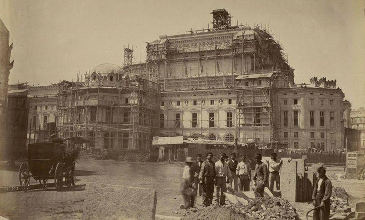 Construction de l'Opéra Garnier - Si vous suivez le lien, il y a d'autres photos !