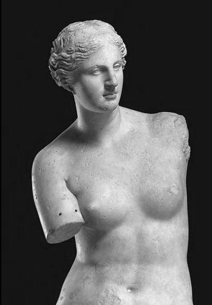 ♔ Venus de Milo (Aphrodite) ` Greek statue 2nd century BC ~ Musée-du-Louvre,-Paris