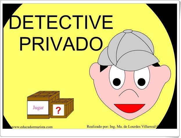 """""""Detective privado"""" (Palabras agudas, llanas, esdrújulas y sobresdrújulas)"""
